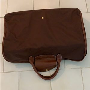 Longchamp LePliage collapsible suitcase tote
